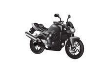 Motociclo nudo Fotografie Stock