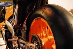Motociclo in tensione fotografia stock libera da diritti