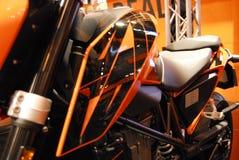 Motociclo in tensione immagine stock