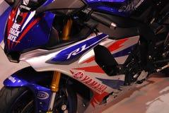 Motociclo in tensione Fotografie Stock Libere da Diritti