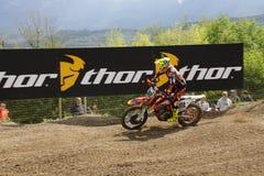 Motocrós MXGP Trentino Cairoli 2015 #222 Imagenes de archivo