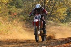 Motocroßrennen Stockfotos
