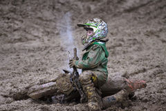 MOTOCROS, GRANDE PRIX-SEVLIEVO Fotografie Stock Libere da Diritti