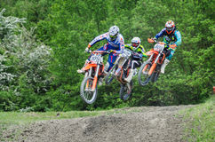 Motocross на Cavallara 4 Стоковое Изображение