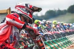 Motocross на Cavallara 5 Стоковое Изображение