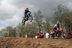 motocross состязания Стоковые Фотографии RF