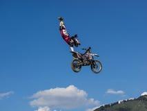 Motocross фристайла MX Стоковые Фотографии RF