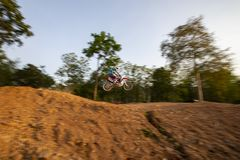 motocross Fotografia de Stock Royalty Free