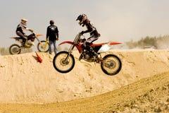 Motocross Royalty-vrije Stock Afbeelding