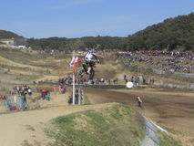 Motocross Immagine Stock
