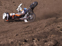 Motocross-33-MX 65cc Royalty-vrije Stock Fotografie