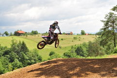 motocross Obrazy Royalty Free