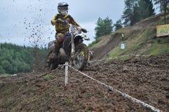 motocross Стоковые Изображения RF