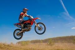 motocross Royaltyfria Bilder