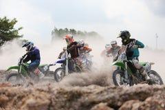 motocross Photographie stock