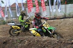 motocross fotografie stock libere da diritti