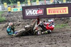 motocross fotografie stock