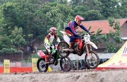 motocross immagine stock