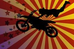 motocross stock de ilustración