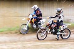 motocross стоковые изображения