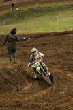 Motocross-84. Lizenzfreie Stockfotos