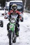 motocross Arkivfoto