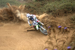 motocross Fotografia Royalty Free