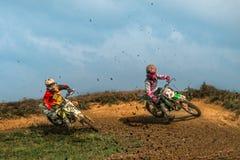 motocross Zdjęcia Royalty Free