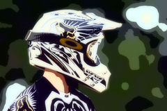 Motocross Abstract Background 018 Stock Image