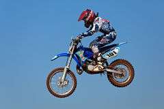 Motocross action Royalty Free Stock Photography