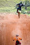 Motocross Action Royalty Free Stock Images