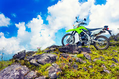 Motocross adventure Stock Photography
