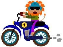 Motocross animale Fotografia Stock Libera da Diritti