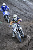Motocross, Atanas Petrov 47. Fotos de Stock Royalty Free