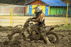 Motocross,Atanas Petrov 47. Stock Photography