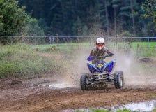Motocross ATV Royalty Free Stock Images