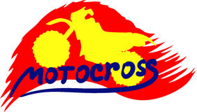 Motocross background Royalty Free Stock Photos