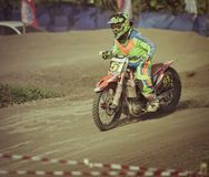 Motocross in Bali Royalty Free Stock Photography