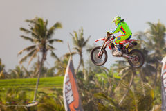 Motocross in Bali Stock Photography