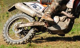 Motocross bike Royalty Free Stock Photos