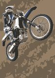 Motocross bike Royalty Free Stock Images