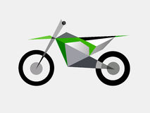 Motocross bike extreme sport Royalty Free Stock Photo