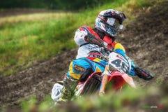 Motocross at Cavallara 9 Stock Photos