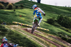 Motocross at Cavallara 14 Royalty Free Stock Image