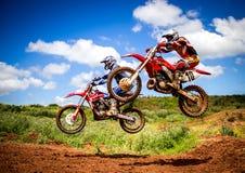 Motocross Championship Royalty Free Stock Photos