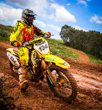 Motocross Championship Stock Photography