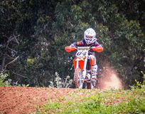 Motocross Championship Royalty Free Stock Photography