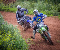 Motocross Championship Royalty Free Stock Photos