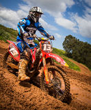 Motocross Championship Stock Photo