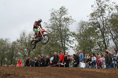 Motocross Championship in Ukraine Royalty Free Stock Photography